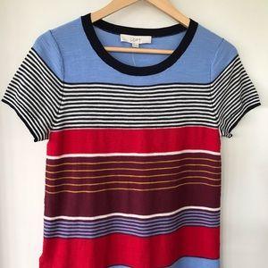 LOFT 💯 cotton knit t-shirt